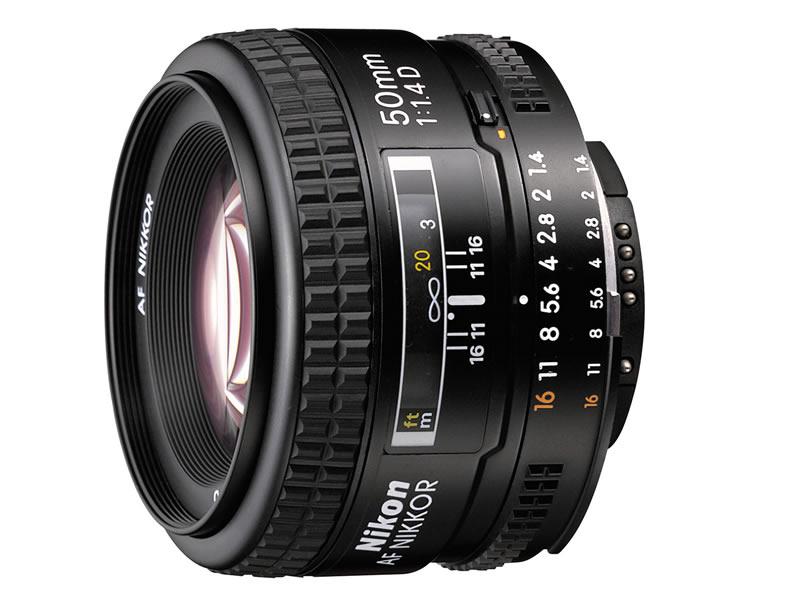 Объектив Nikon AF Nikkor 50 mm f/1.4D