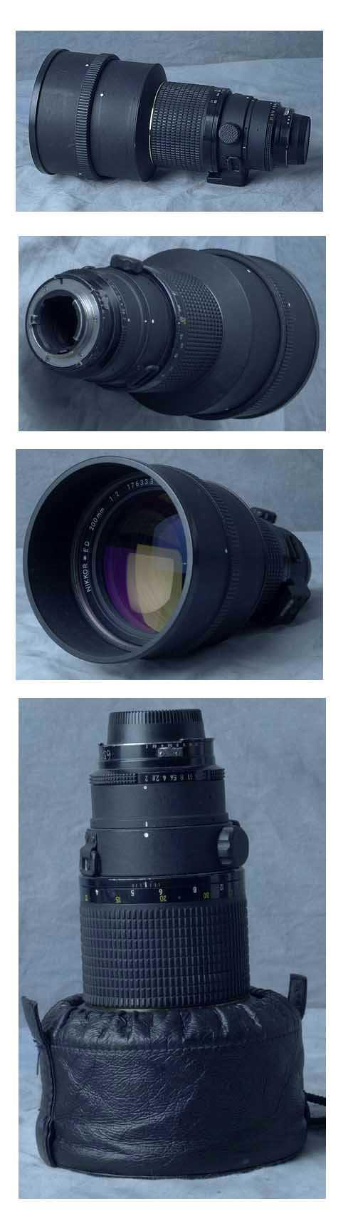 Nikon Lenses Camera Lens Parts Diagram Related Keywords Ai 200 2 If Ed