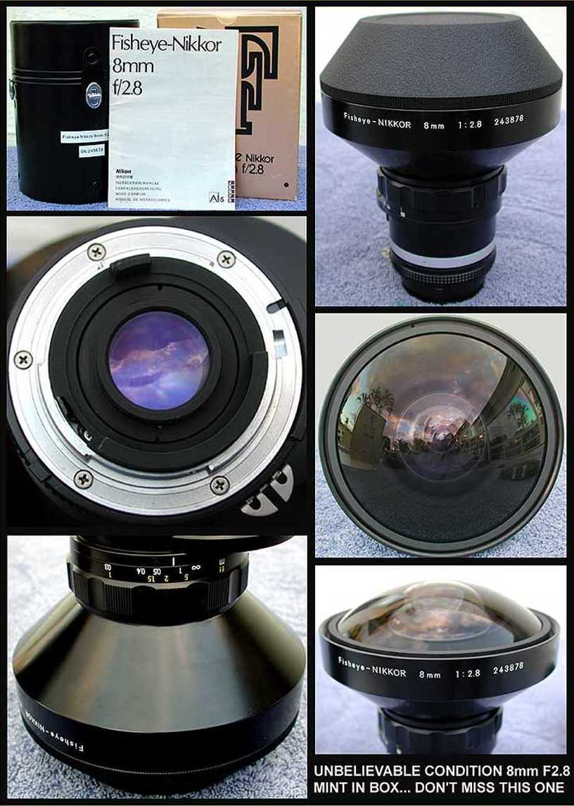 Nikon Lens Versions And Serial Nos Af 105mm F 28g If Ed Dx Fisheye Ai S 8 28